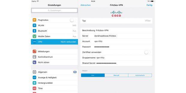 Sicheres <b>VPN</b> mit der <b>Fritzbox</b> in fünf Schritten - PC-WELT