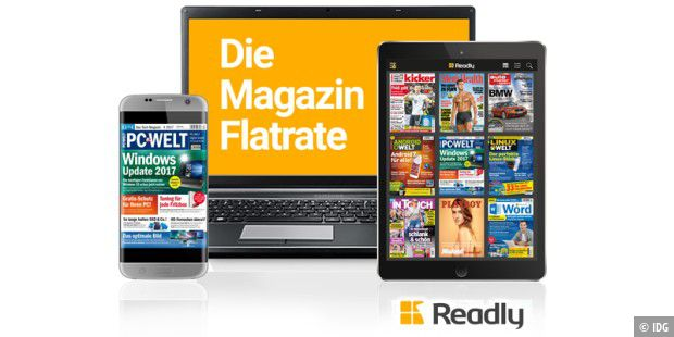 Readly - die Magazin-Flatrate