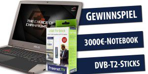 DVB-T2: Alle Infos / Notebook & TV-Sticks gewinnen!