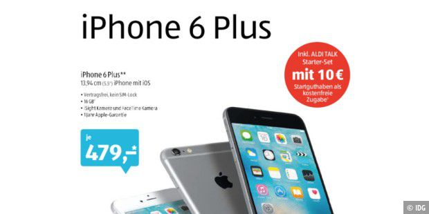 iPhone Plus bei Aldi Süd