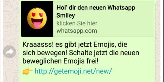 WhatsApp: Warnung vor einem neuen Kettenbrief