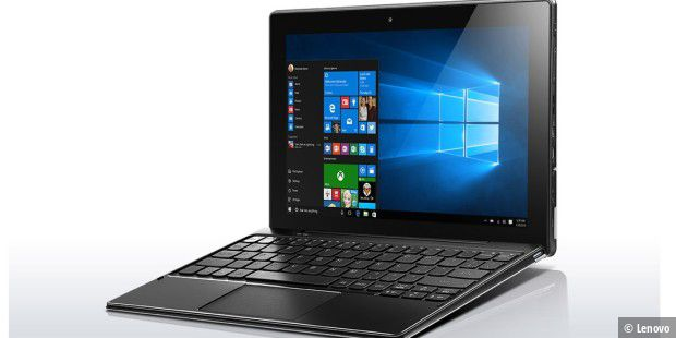 Lenovo Ideapad Miix 310: Windows-Tablet mit LTE und Windows 10 Pro