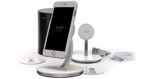 andi wireless charging schickes system f r das iphone. Black Bedroom Furniture Sets. Home Design Ideas