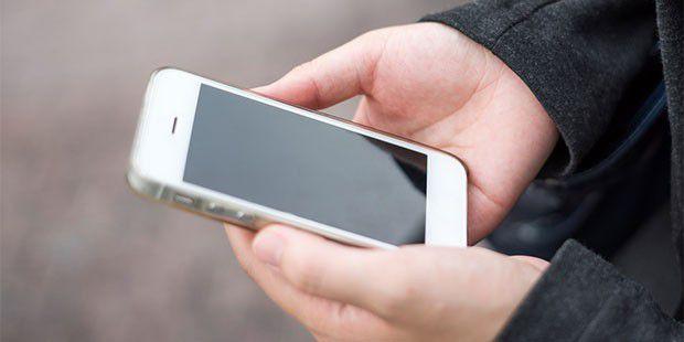 Das Iphone Geht An