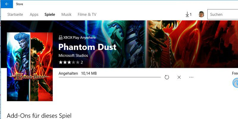 how to download phantom dust on windows 10