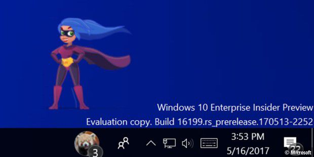 Emojis auf dem Windows-10-Desktop via My Friend