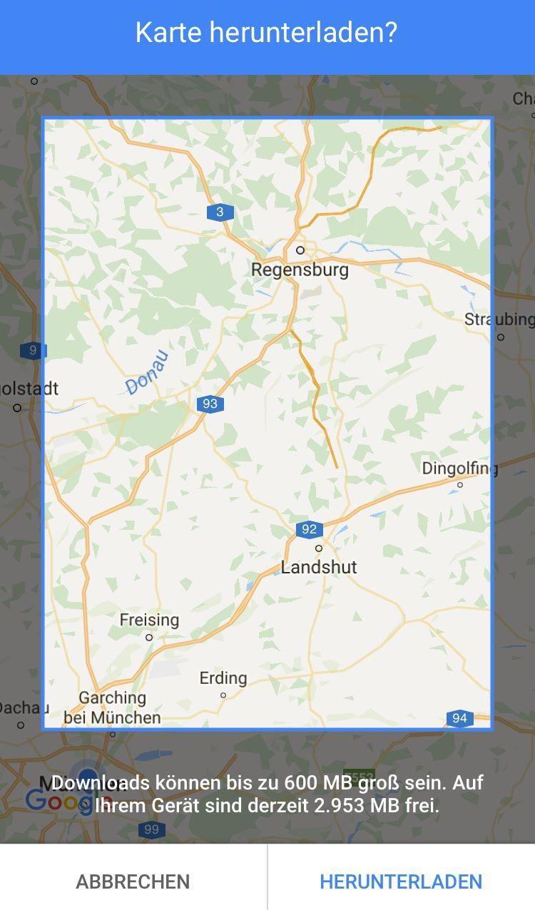 Google Maps im Test: Gratis-Navigation mit exakten Verkehrslage ...