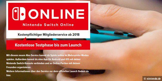 Switch Online-Service startet erst 2018 um 20 Dollar pro Jahr