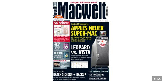 Macwelt 6/07: Apples neuer Super-Mac