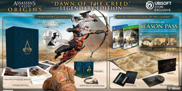 Assassin´s Creed Origins - Dawn of the Creed Collector´s Case Legendary Edition