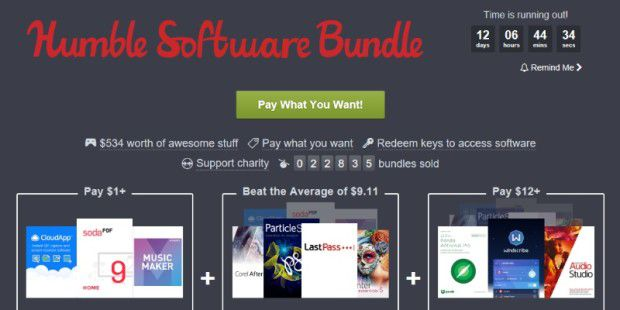 Humble Software Bundle