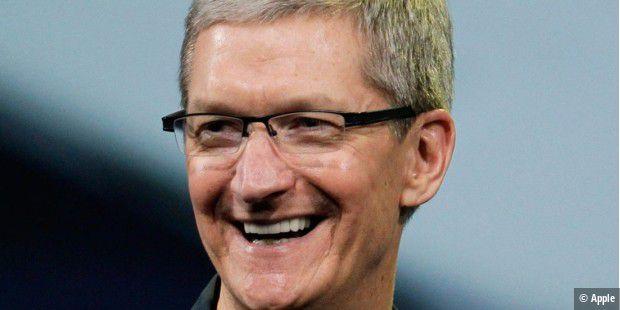 Mio. Dollar für Tim Cook im Apple-Jahr 2016