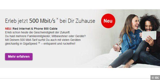 Vodafone baut Festnetz aus: