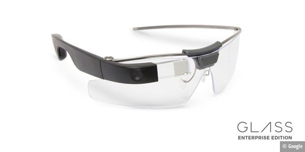 Die Enterprise Edition von Google Glass ist robuster.