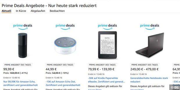 Amazon Echo stark reduziert - und weitere Prime-Deals - PC ...
