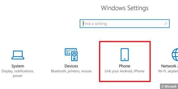 Microsoft arbeitet an Windows-10-Verknüpfung für Smartphones