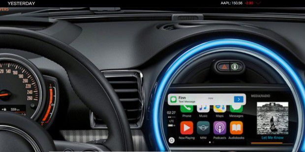 Carplay im Mini.
