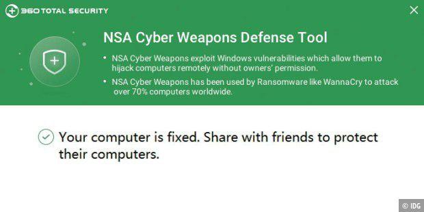 Freeware prüft PCs auf NSA-Sicherheitslücken - PC-WELT
