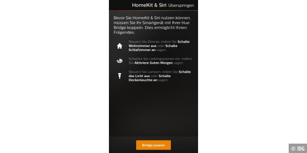 how to connect philips hue to homekit