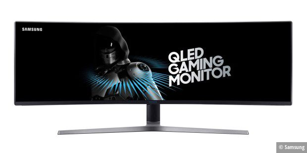 Samsung CHG90 Ultra-Wide Gaming-Monitor