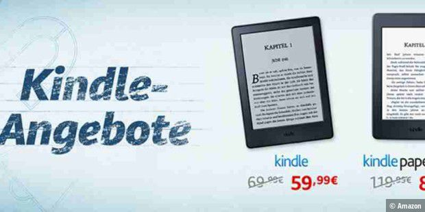 Kindle-Rabatt-Aktion bei Amazon