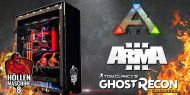 ARK, ARMA 3 & Ghost Recon: Wildlands in DREIMAL 4K