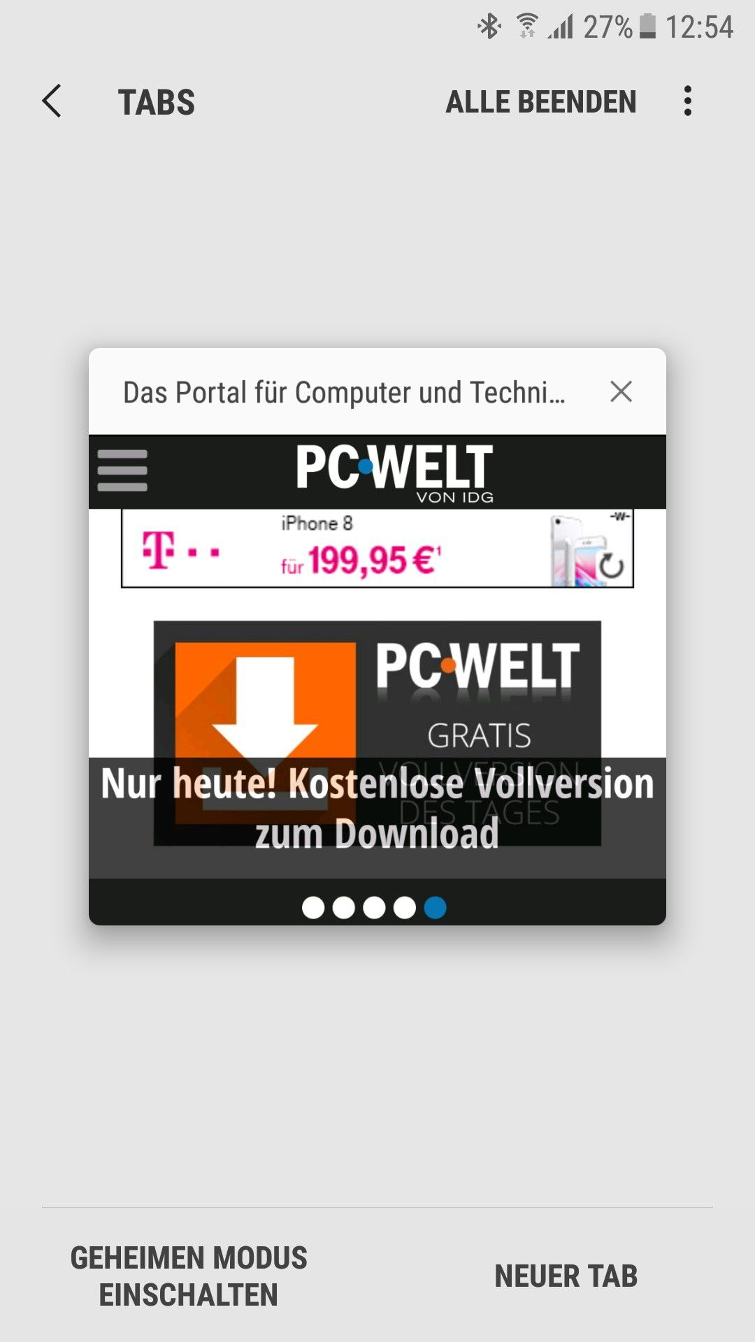Gute Android Browser