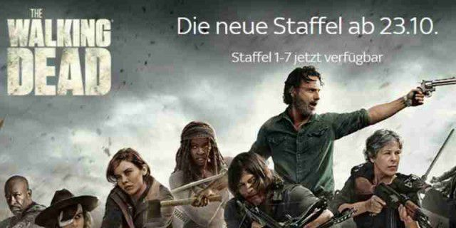 The Walking Dead: 8. Staffel startet - hier günstig schauen!
