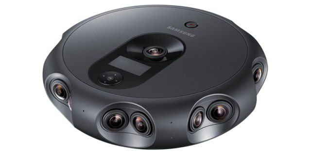 360 Round: Samsung-Kamera streamt 4K-Videos in 3D