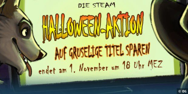 Halloween-Aktion bei Steam
