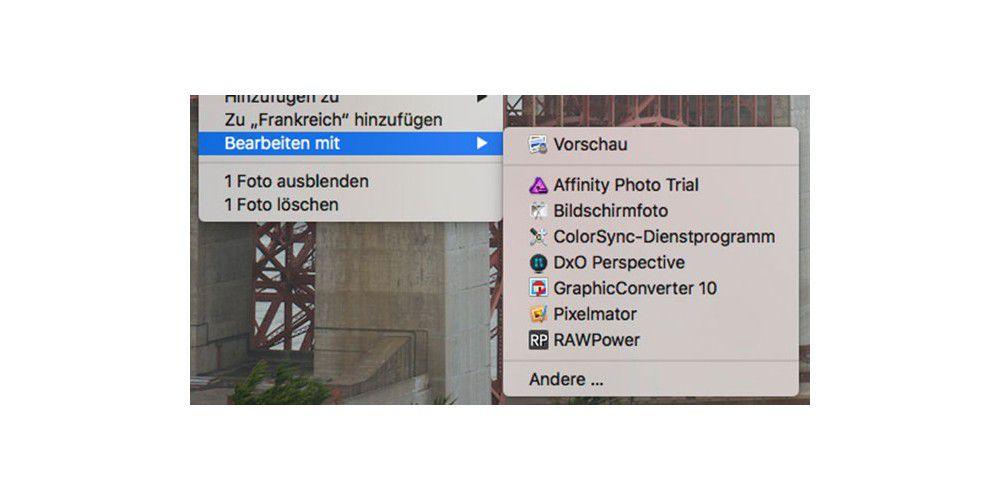 Bildbearbeitung mit macOS: Erweiterungen für Fotos