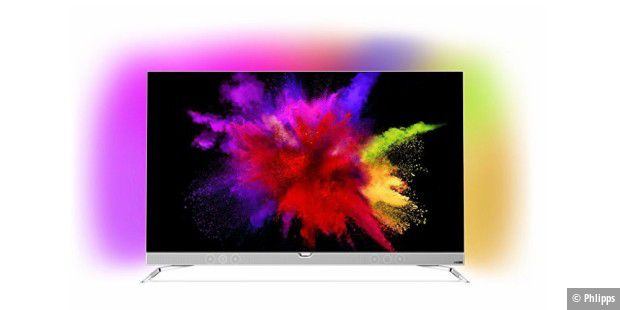 Der Philips 55POS901F OLED-TV