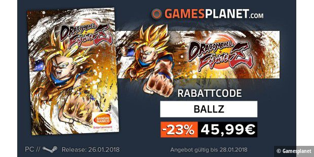 Rabatt-Code für DRAGON BALL FighterZ
