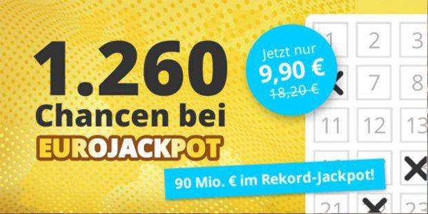 Millionen im Eurojackpot EXPRESS verlost 5 Super-Scheine