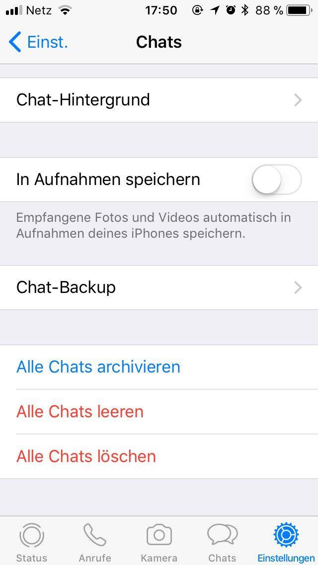 Whatsapp bilder laden aber nicht speichern