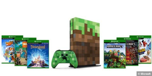 Xbox One S 1 TB Family-Bundle mit 5 Spielen
