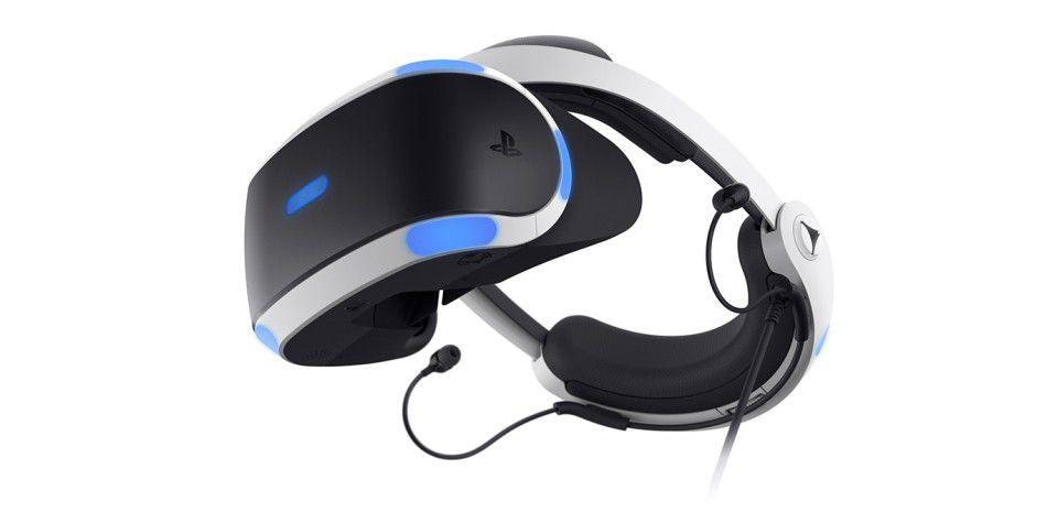 Die zweite Generation der PS VR bietet ein neues Design und besseres Kabelmanagement.