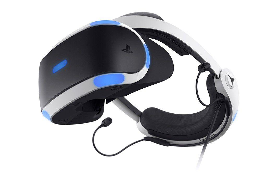 6947158bd7d Vergrößern Die zweite Generation der PS VR bietet ein neues Design und  besseres Kabelmanagement.