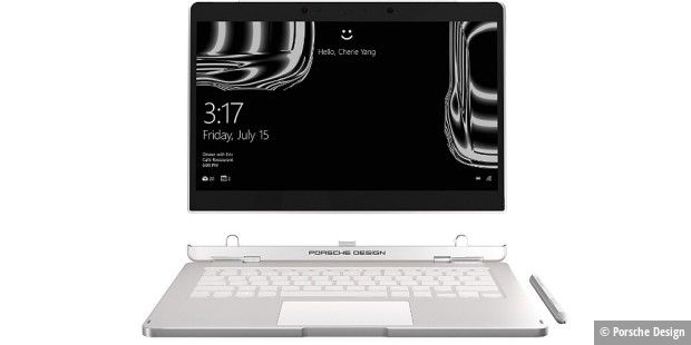 Edel-Notebook Porsche Design Book One - bei Amazon am Sonntag im Angebot