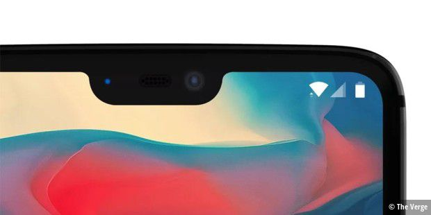 OnePlus 6 mit Display-Notch