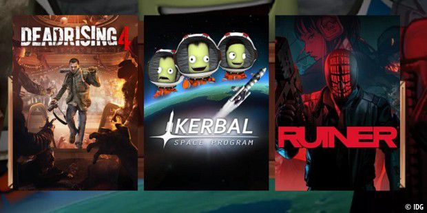 Kerbal Space Program, Dead Rising 4, Ruiner für nur 10 Euro im Humble Monthly