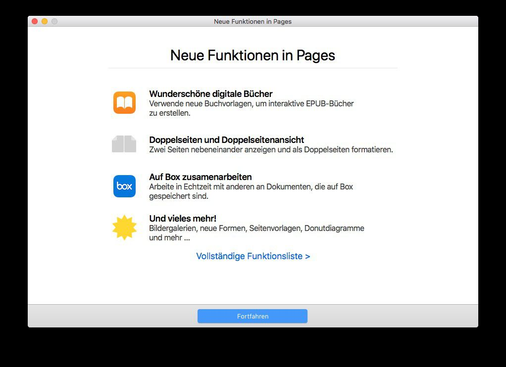 Pages 7 für macOS: iBooks Author integriert - Macwelt