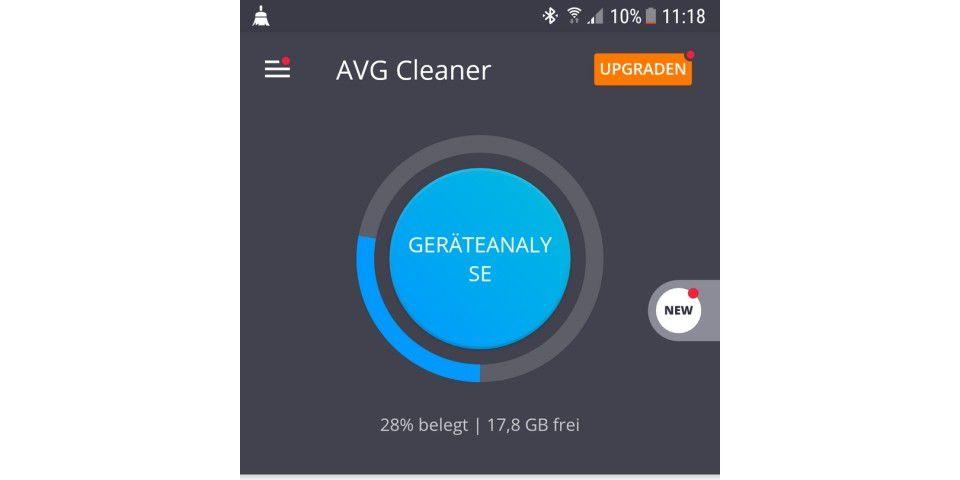 avg cleaner für pc