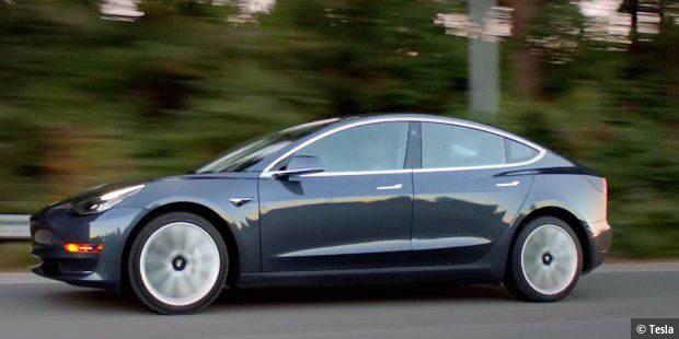 Tesla stoppt Produktion des Model 3