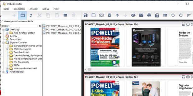 pdf zusammenfügen mit gratis tool so geht s pc welt