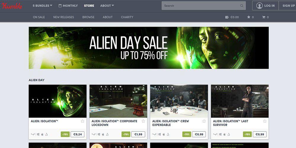 Alien Day Sale\