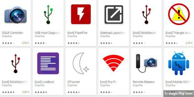 Chainfire gibt seine Root-Apps auf