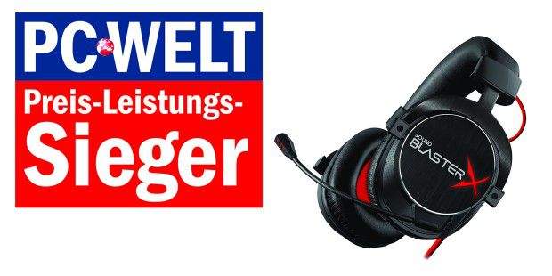 PREIS-LEISTUNGS-SIEGER: Creative Sound BlasterX H7 Tournament Edition