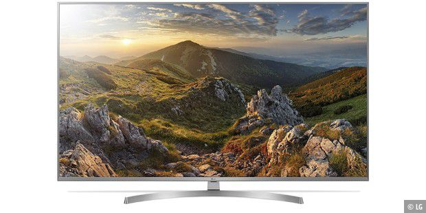 Der 55 Zoll UHD-LED-TV LG 55UK7550LLA