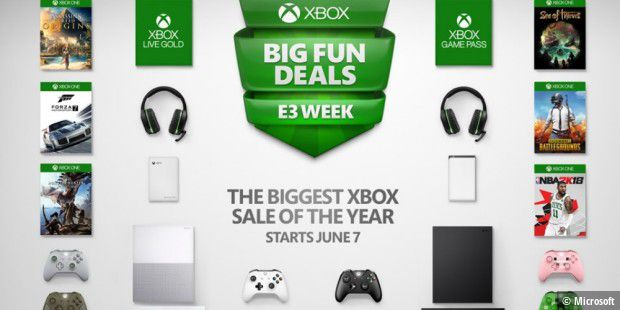 Xbox One Großer Spiele Sale Ist Gestartet Pc Welt